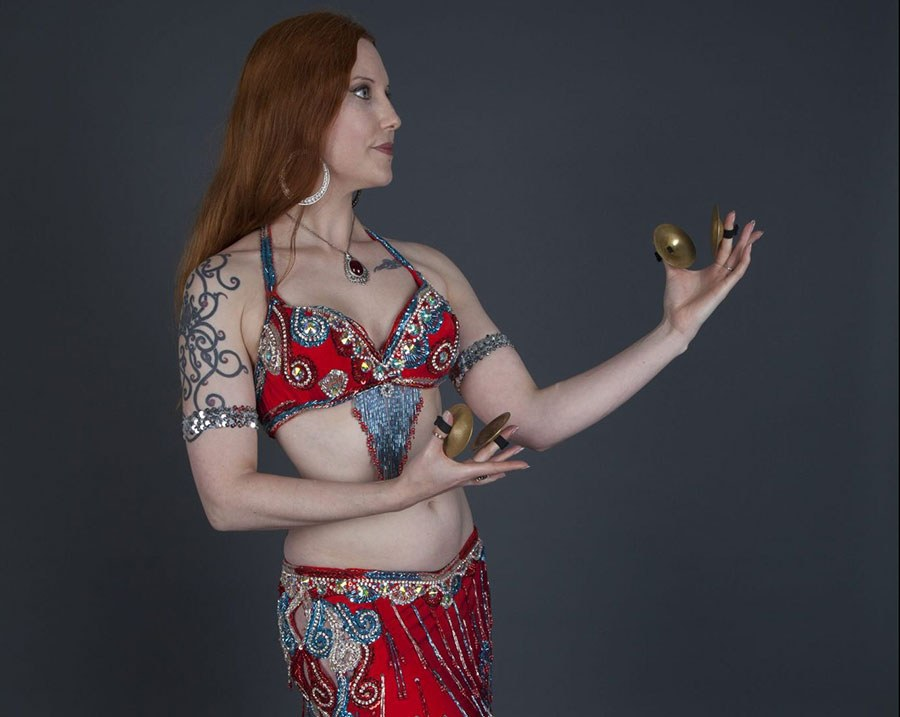 Melusina Navel Gazers Belly Dance Melbourne Zills