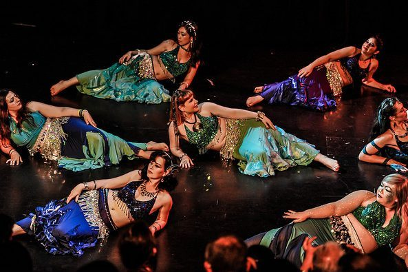 Navel Gazers Belly Dance EOY 2015 Itermediate Bellydancers