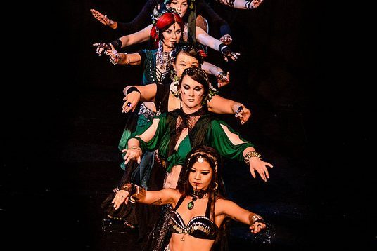 Navel Gazers Belly Dance EOY 2015 Tribal Fusion
